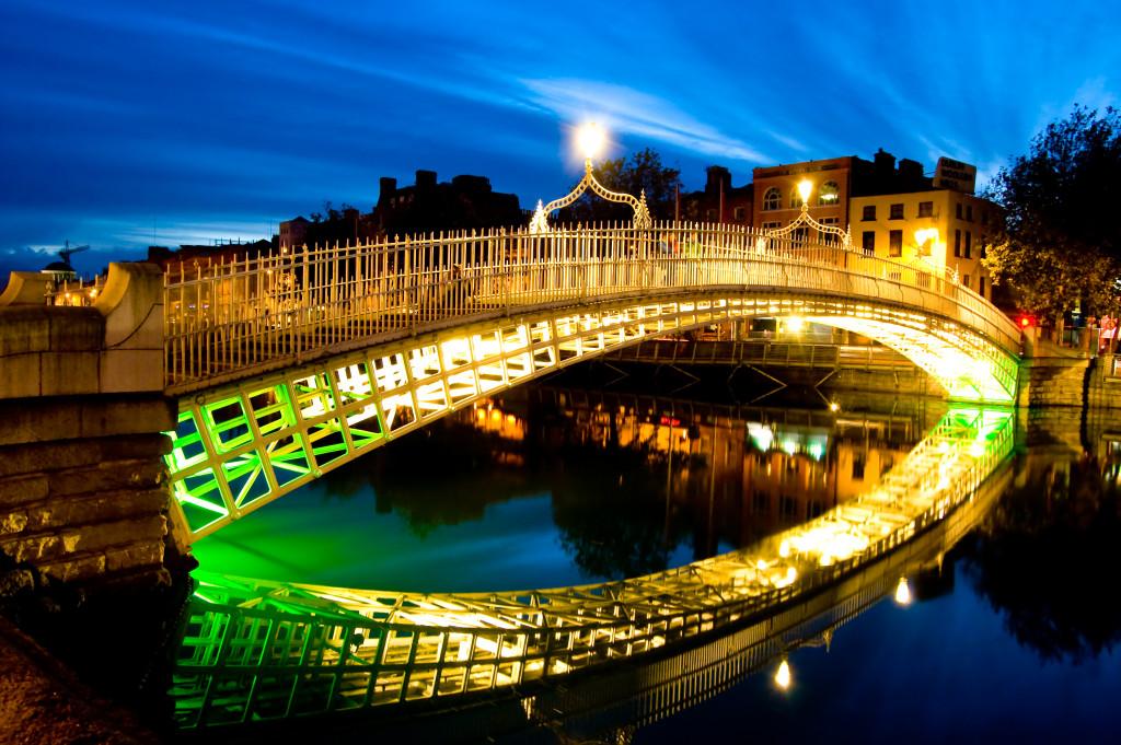 5 - IRSKA Dublin reka Liffey
