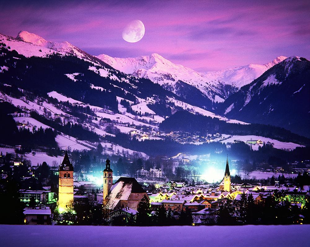 Čarobno gorsko mesto Kitzbühel