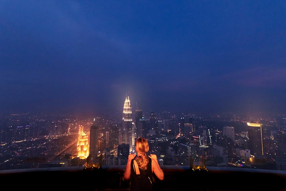 Pogled na Kuala Lumpur
