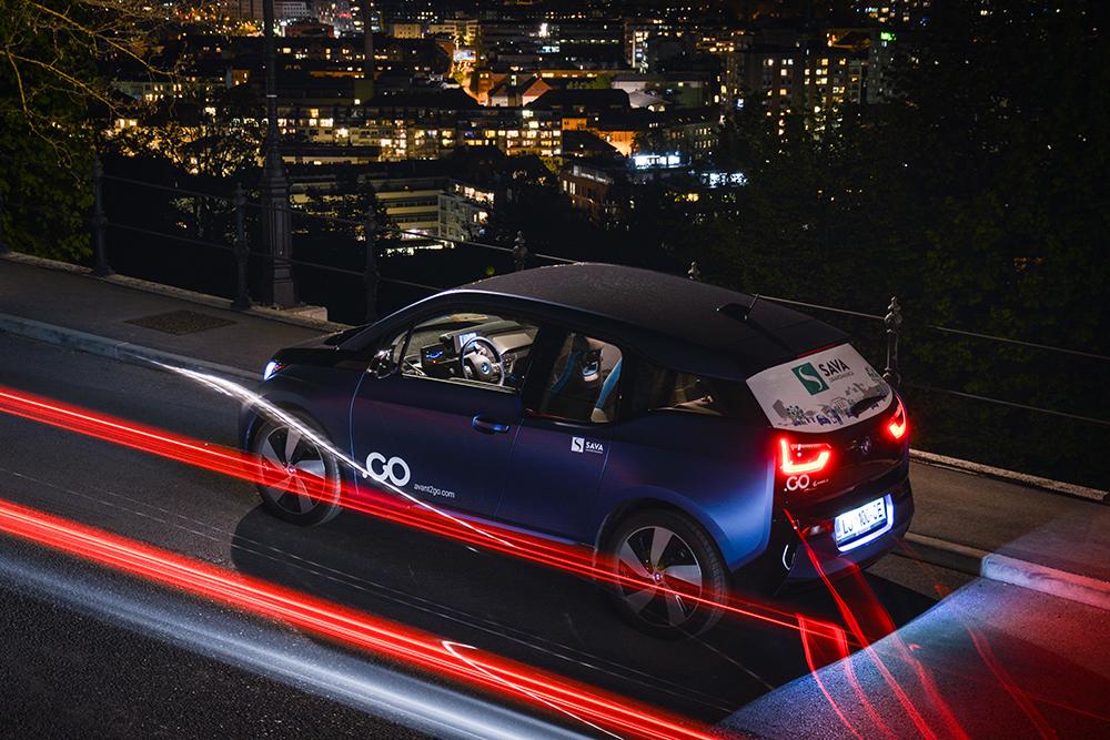 Avant2Go, delitev električnih vozil