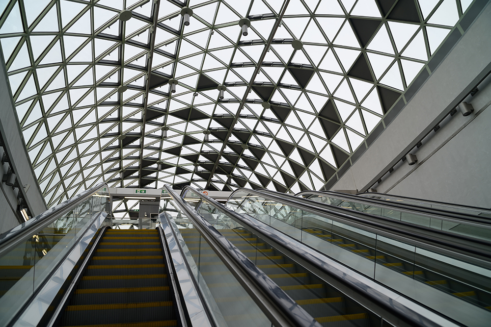 Vhod v podzemno železnico
