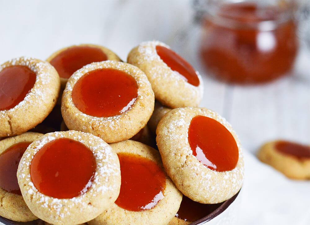 pirini piškoti z marmelado