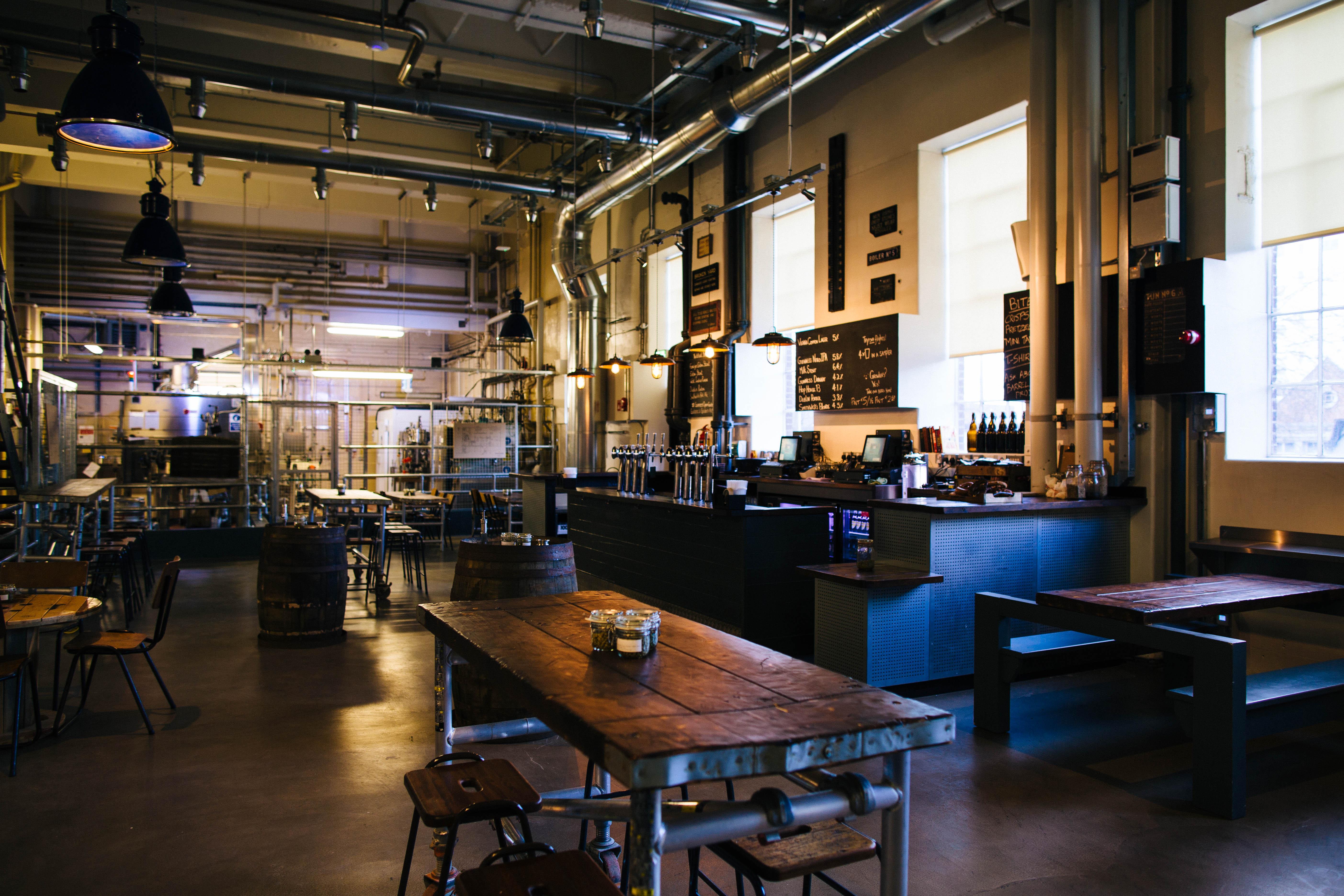 Pivnica in pivovarna v enem - za prave zanesenjake.