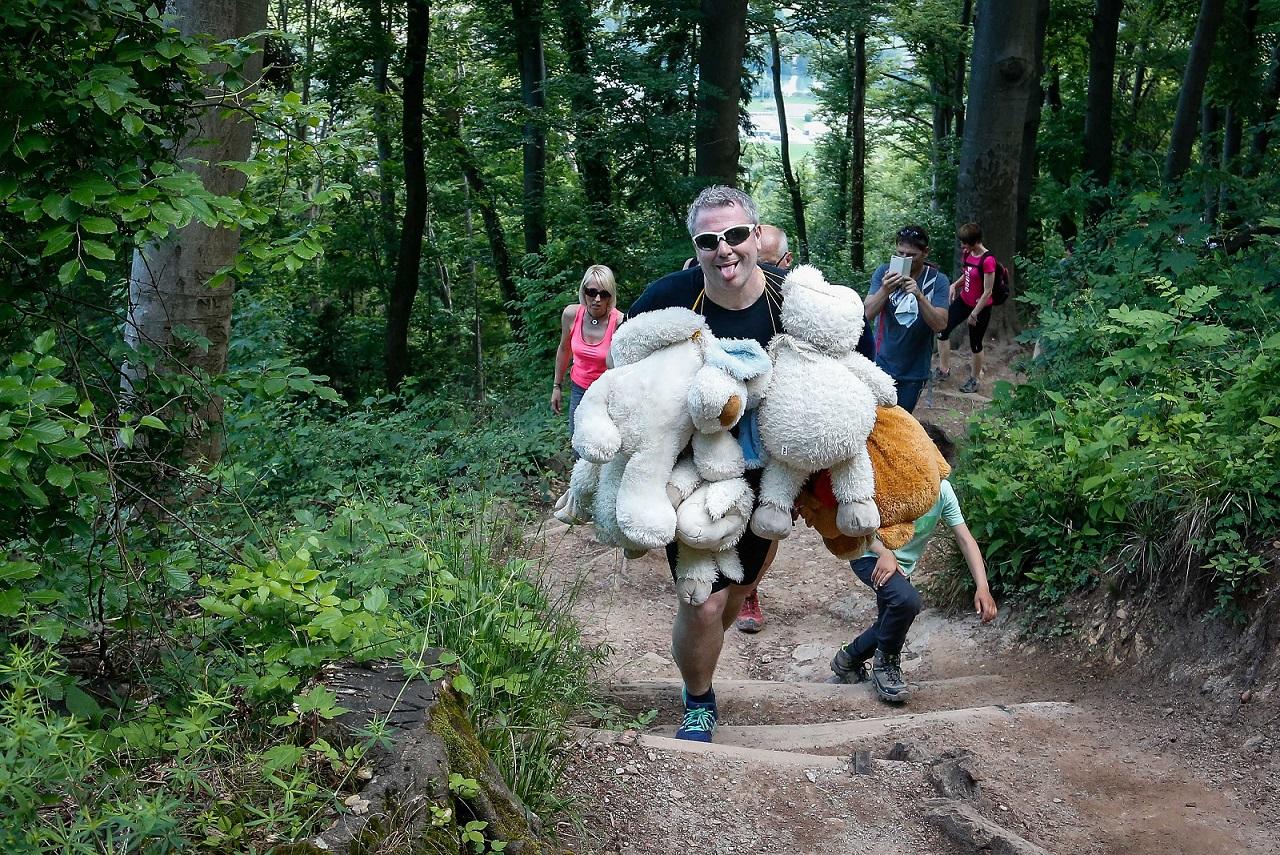 Tudi Miha Deželak se je udeležil skupinskih priprav (Avtor Anže Malovrh)