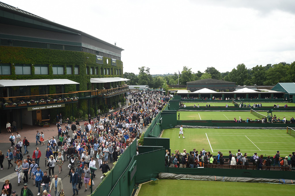 AELTC/Jon Buckle . 27 June 2016