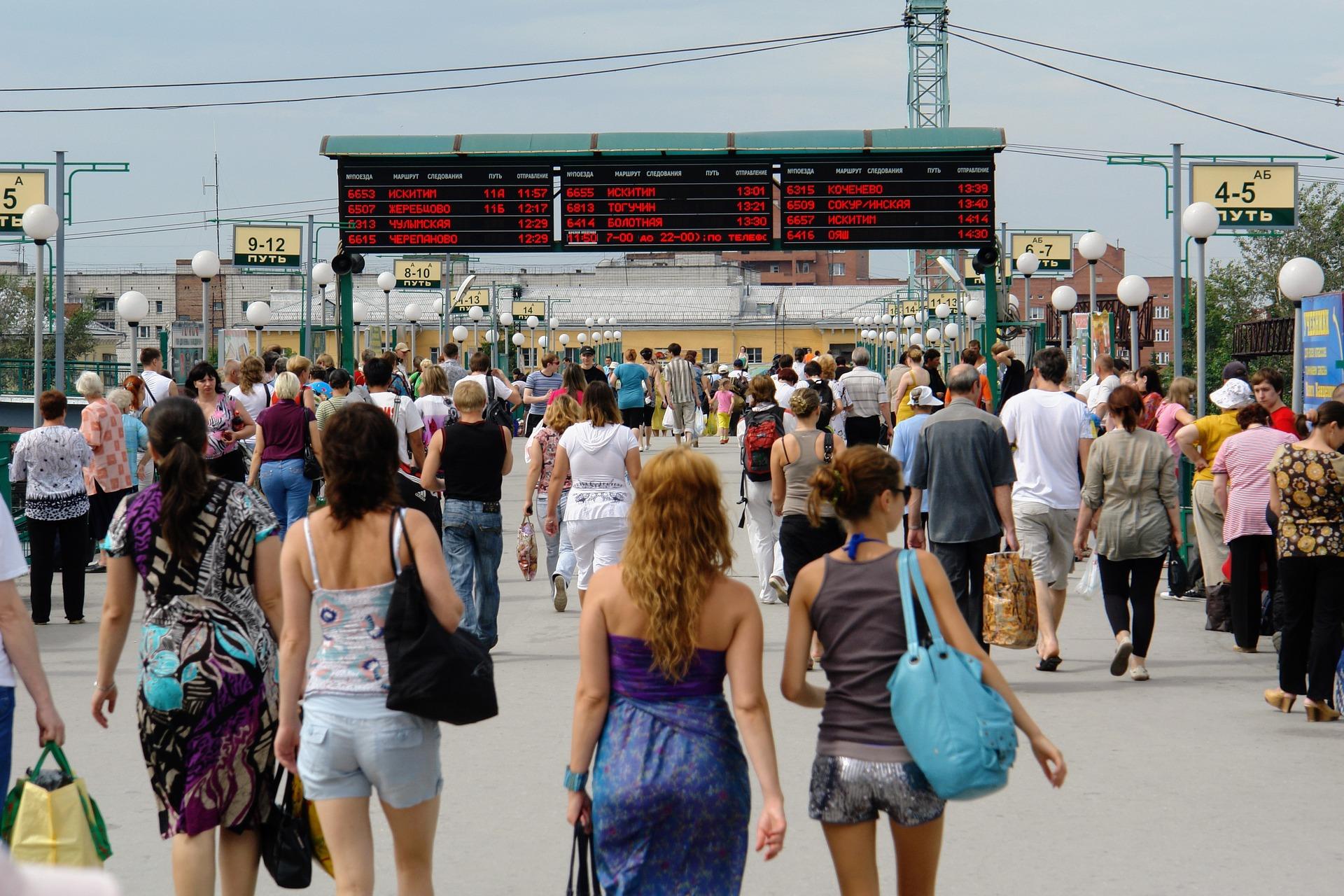 Odhod Transsibirska železnica