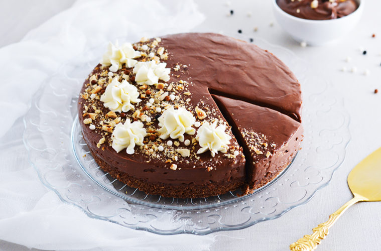 nutellin cheesecake